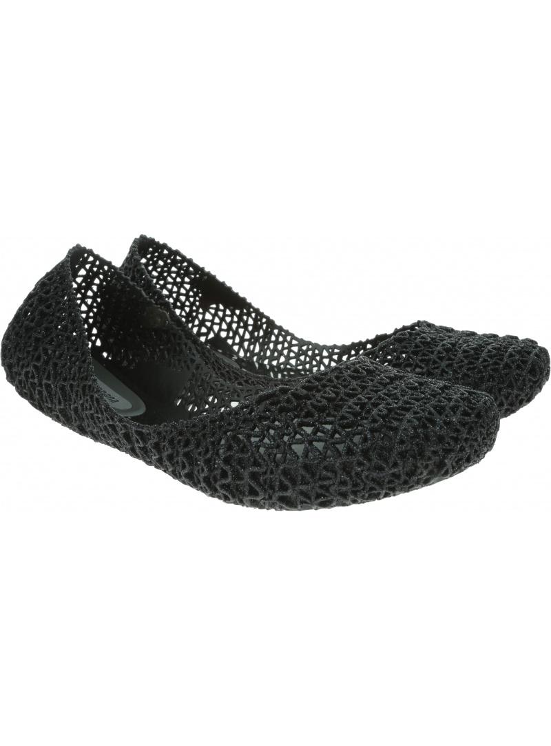 Czarne Balerinki MELISSA Campana Papel 31512 Black Glitter 52682