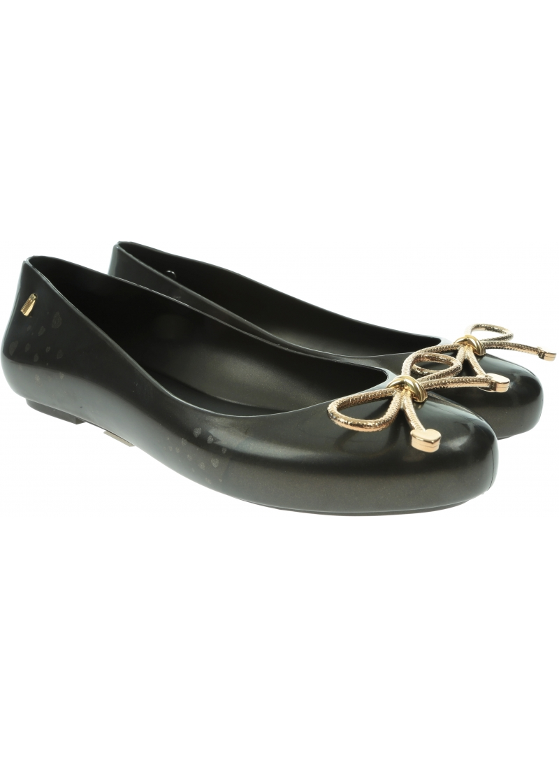 Czarne Baleriny MELISSA Sweet Love Ad 32848 Black/Gold 50919