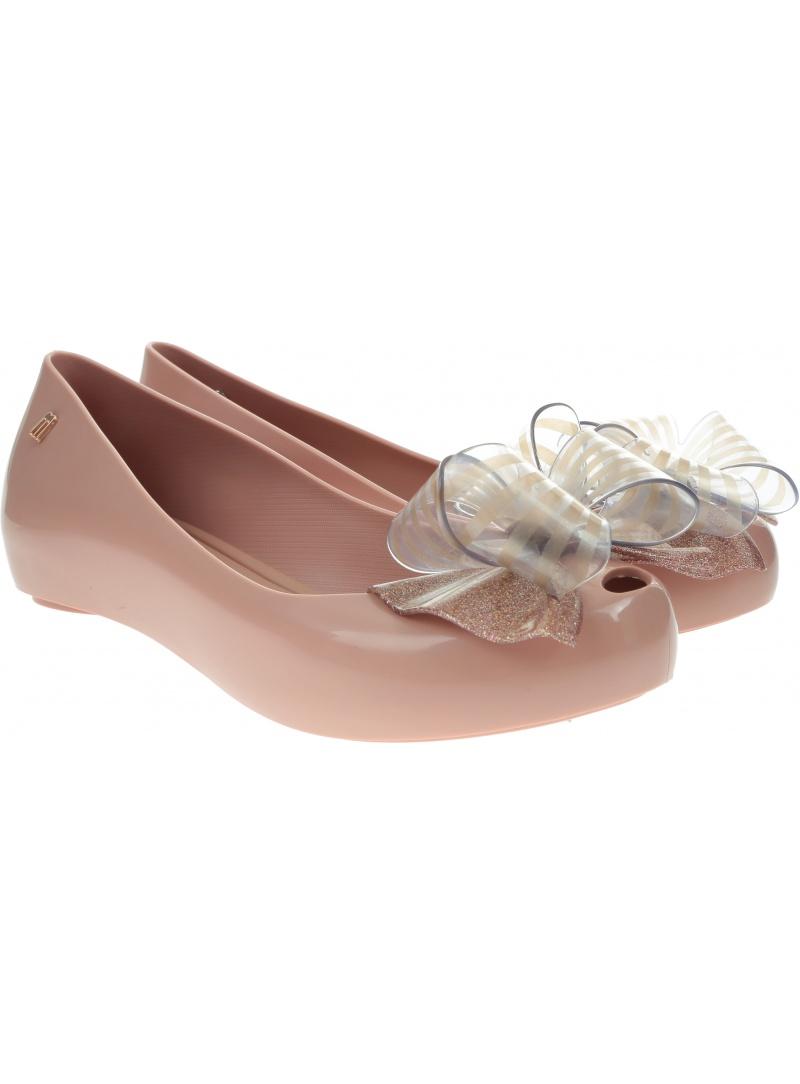 Dziecięce Baleriny MELISSA Ultragirl Sweet XVIII 32717 Pink/Pink Glitter