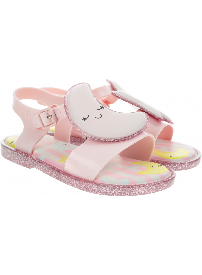 Sandały MINI MELISSA Mar Sandal Sweet Dreams BB 32769 Pink Glitter 53328