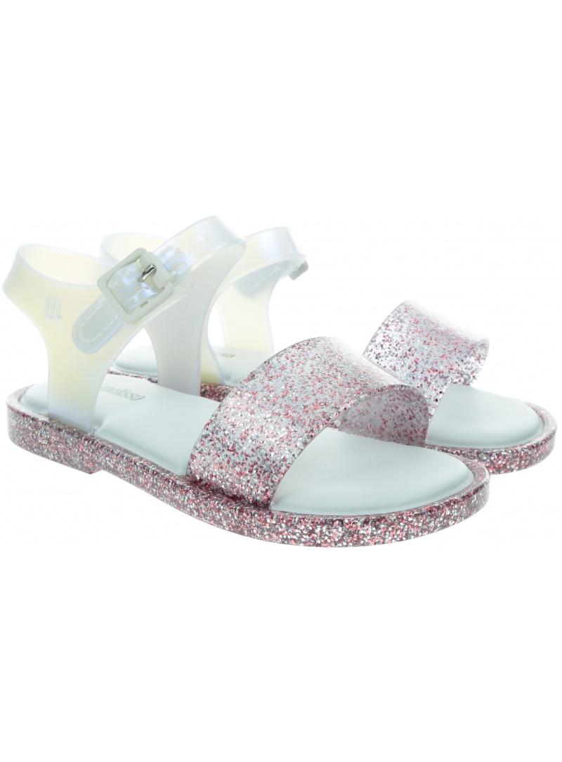 Sandały MINI MELISSA Mar Sandal III 32633 White/Glitter 53651