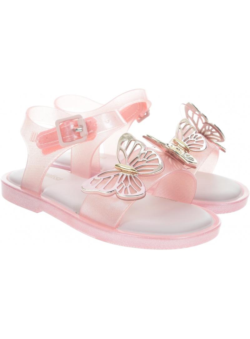 Sandały MINI MELISSA Mar Sandal Fly BB 32746 Pink/Gold 50927