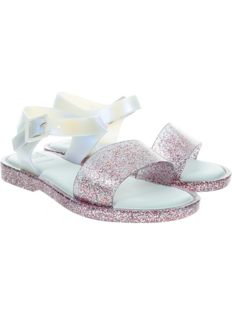 Sandały dziewczęce MELISSA Mar Sandal 32690 White/Glitter 53651