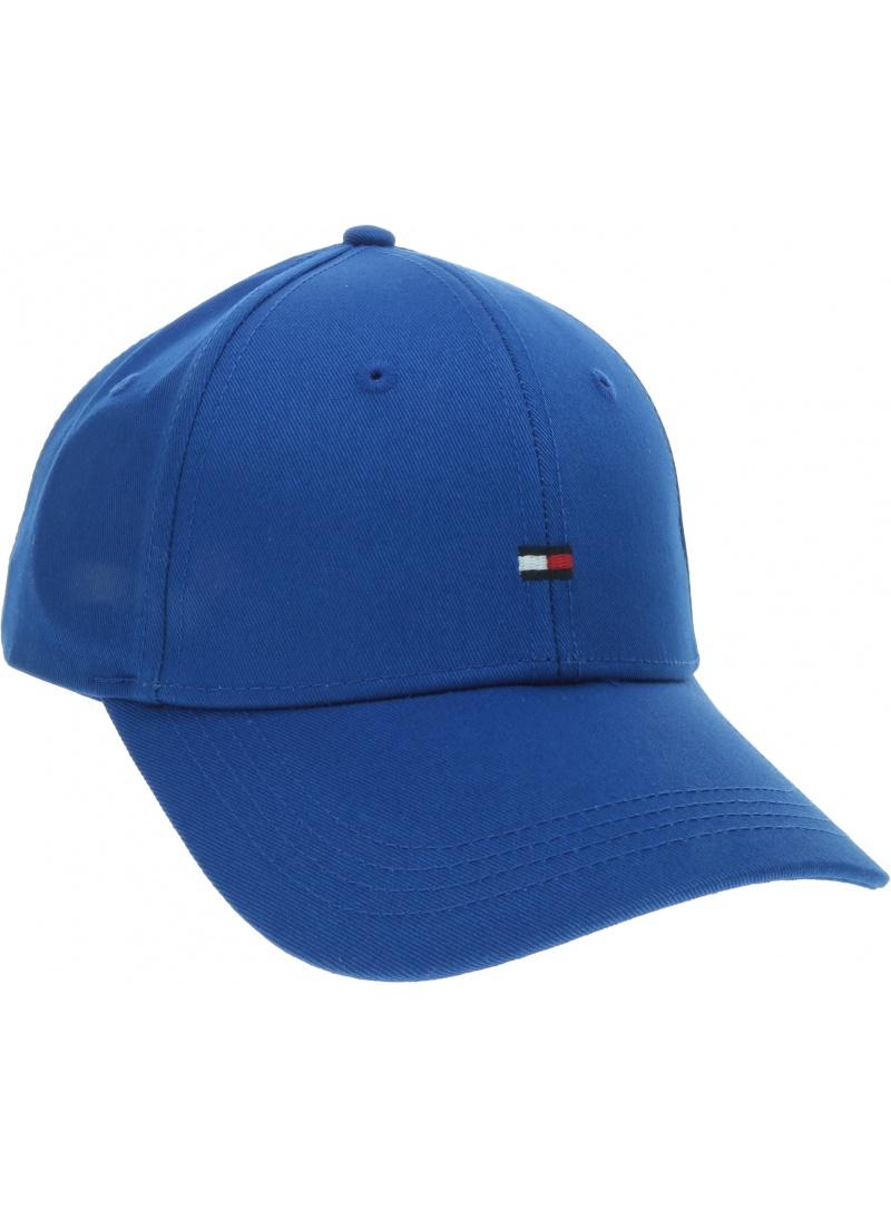 Niebieska Czapka z Daszkiem TOMMY HILFIGER Bb Cap AW0AW06573 421