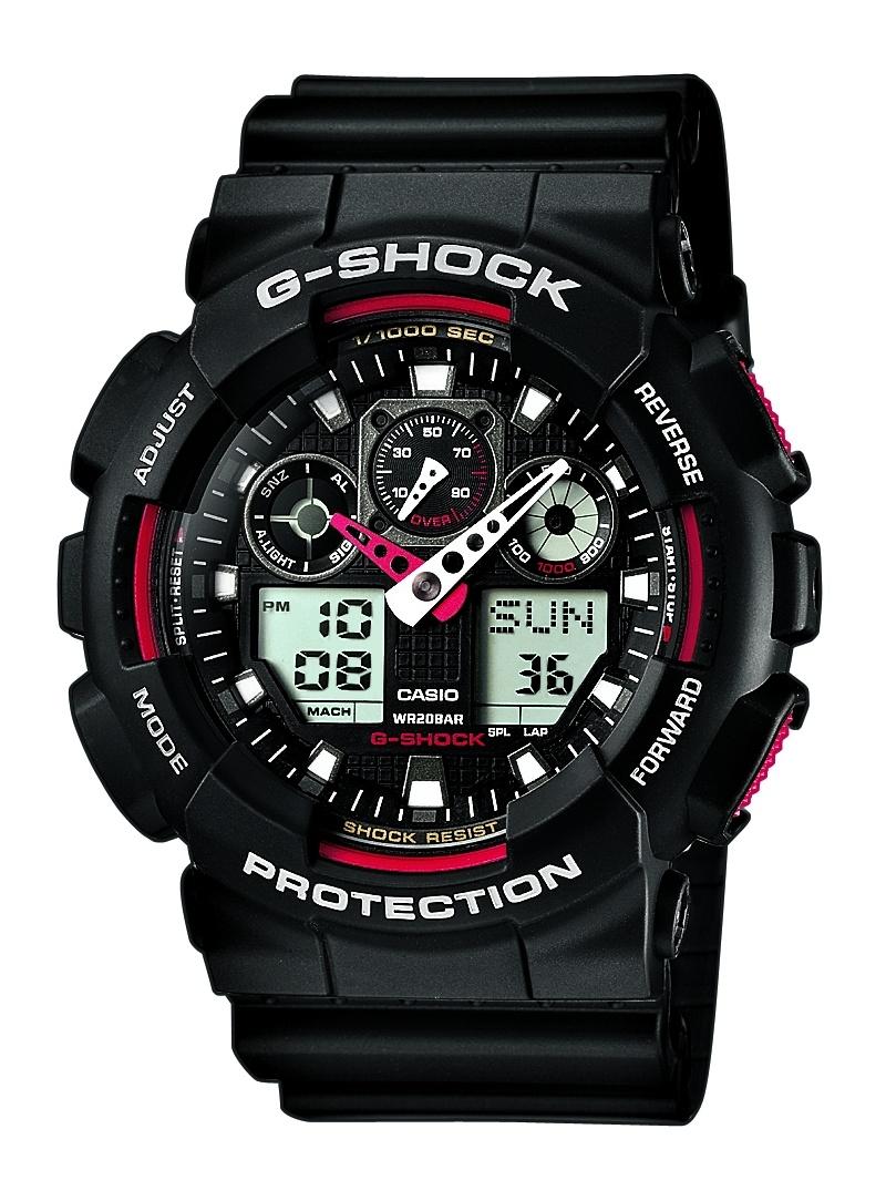 Zegarek Męski Casio G-SHOCK GA-100-1A4ER