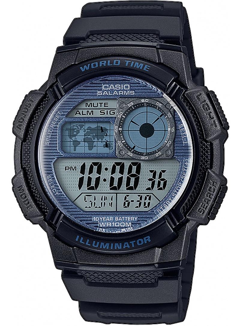 Zegarek Męski Casio ORIGINAL AE-1000W-2A2VEF