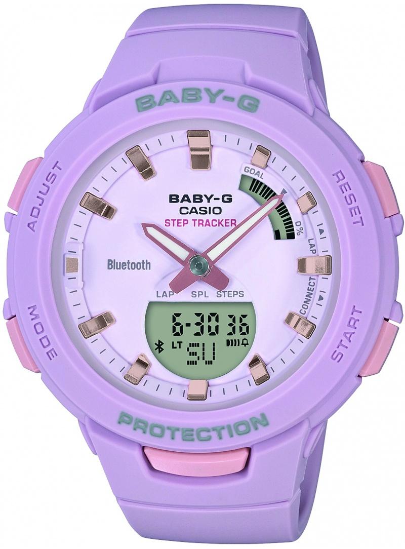 Zegarek Damski Casio BABY-G BSA-B100-4A2ER