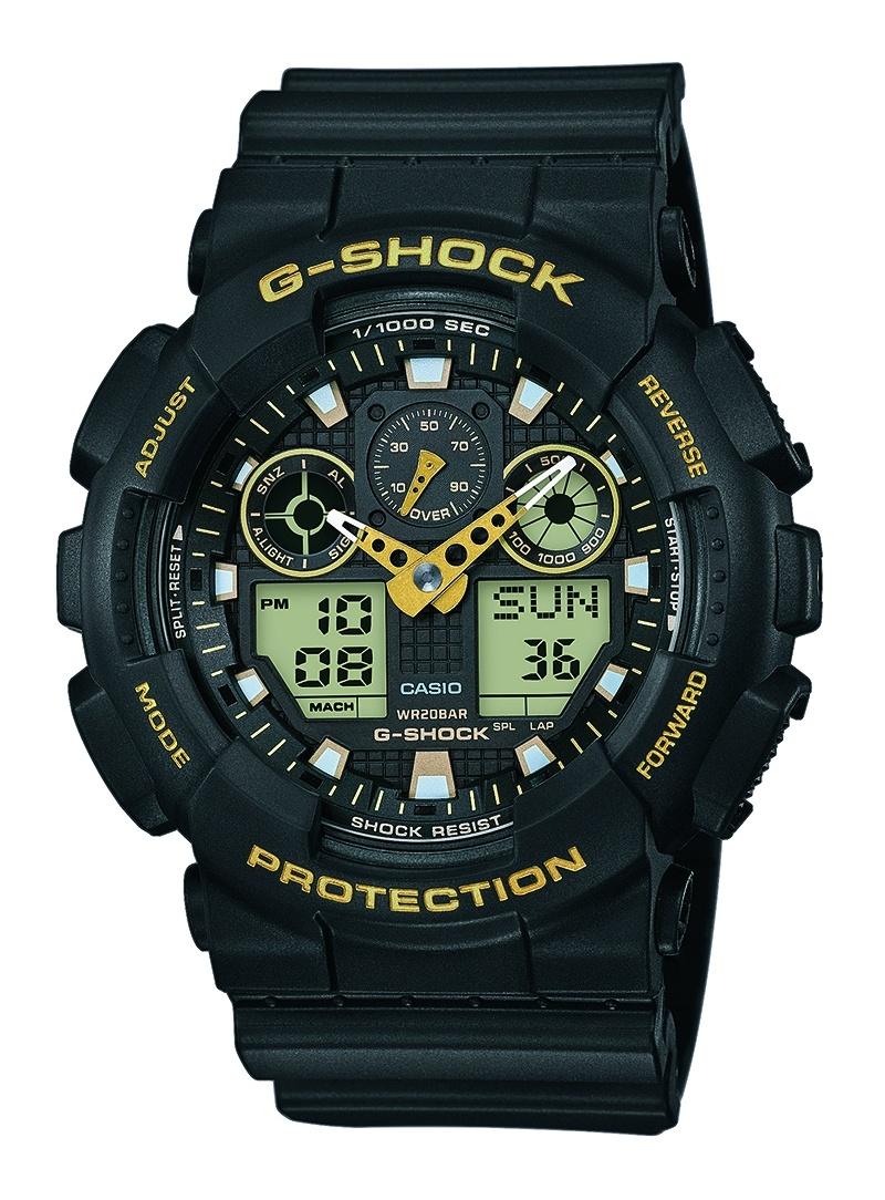Zegarek Męski Casio G-SHOCK GA-100GBX-1A9ER