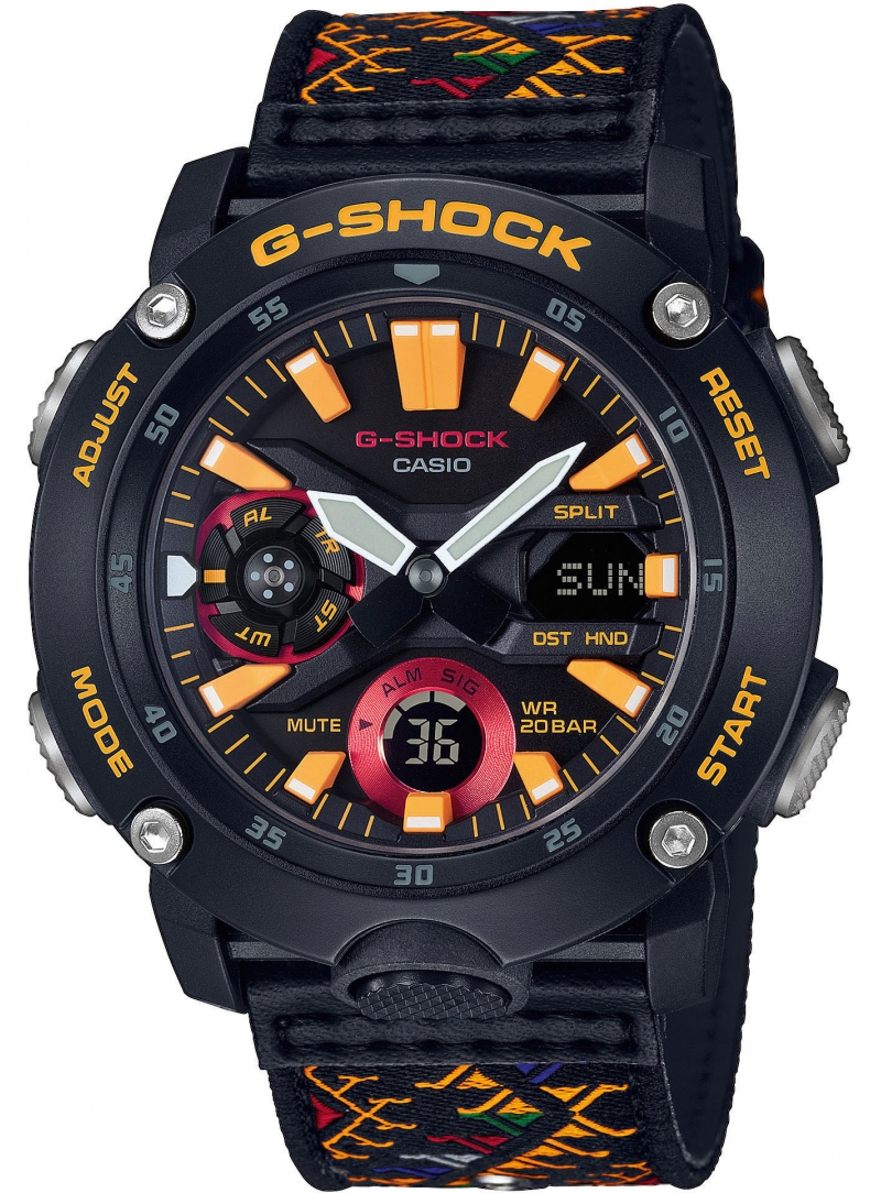 Zegarek Męski Casio G-SHOCK GA-2000BT-1AER