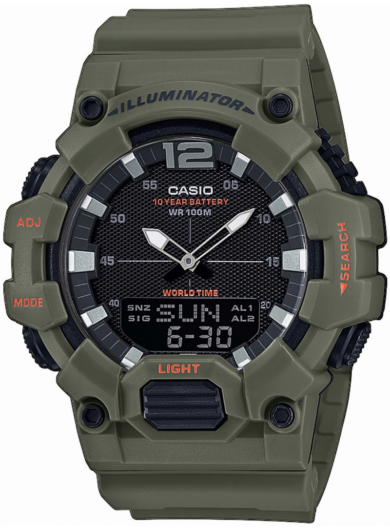 Zegarek Męski Casio ORIGINAL HDC-700-3A2VEF