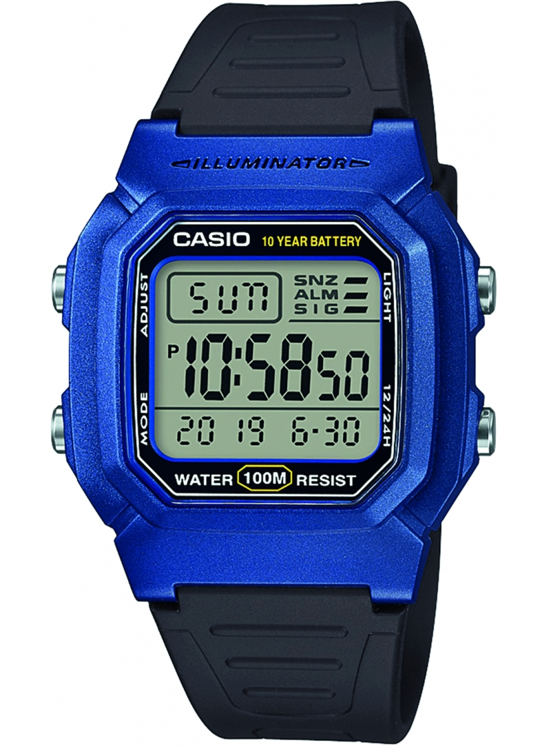Zegarek Męski Casio ORIGINAL W-800HM-2AVEF