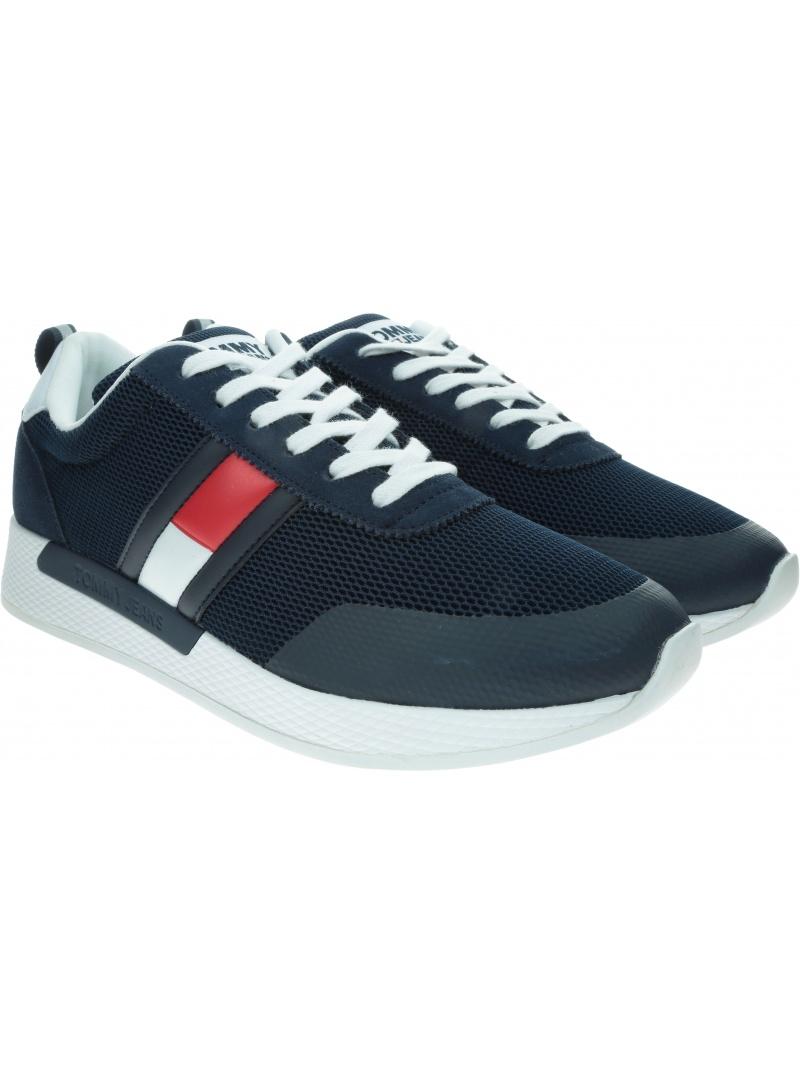 Sneakersy Męskie TOMMY HILFIGER Flexi Tommy Jeans Flag Sneaker EM0EM00400