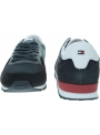 Sneakersy Męskie TOMMY HILFIGER Iconic Material Mix Runner FM0FM02667 DW5