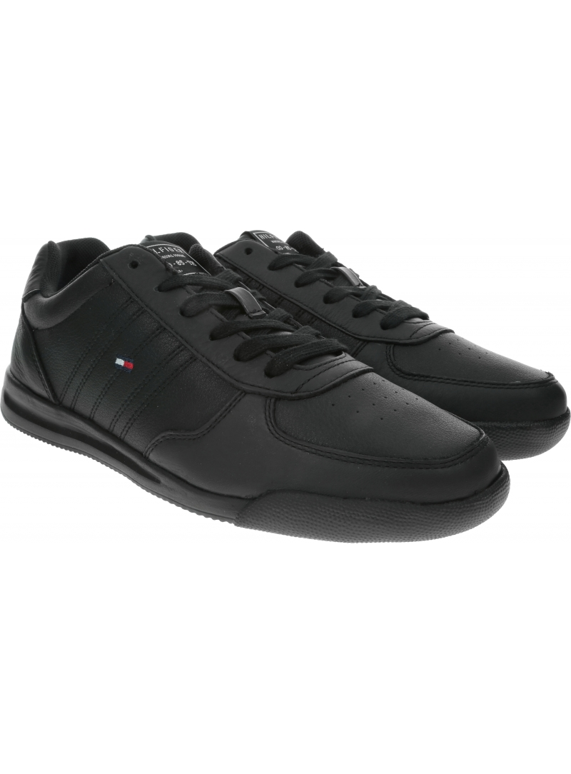 Sneakersy Męskie TOMMY HILFIGER Lightweight Leather Sneaker Flag