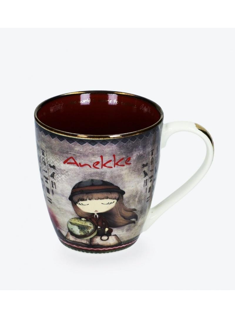 Porcelanowy Kubek z Dziewczynką ANEKKE 29890-T1