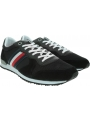 Sneakersy Męskie TOMMY HILFIGER Iconic Material Mix Runner FM0FM02667 BDS