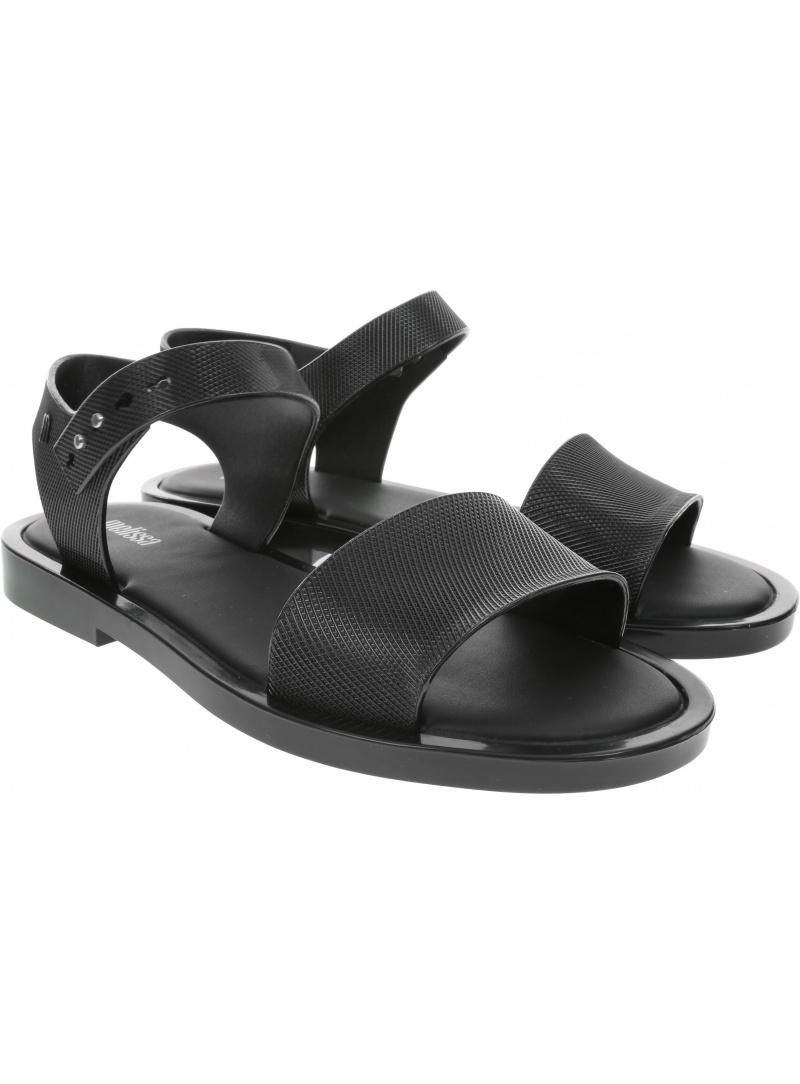 Czarne Sandały MELISSA MAR SANDAL CHROME AD 32639 50522
