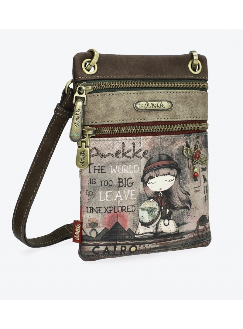 Torebka ANEKKE MINI CROSSBODY BAG WITH TWO COMPARTMENTS 29898-05