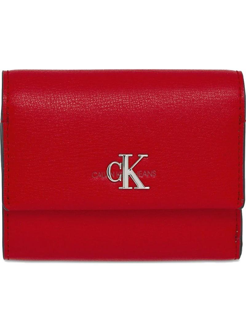 Portfel Damski CALVIN KLEIN Trifold Wallet K60K606609 XA9