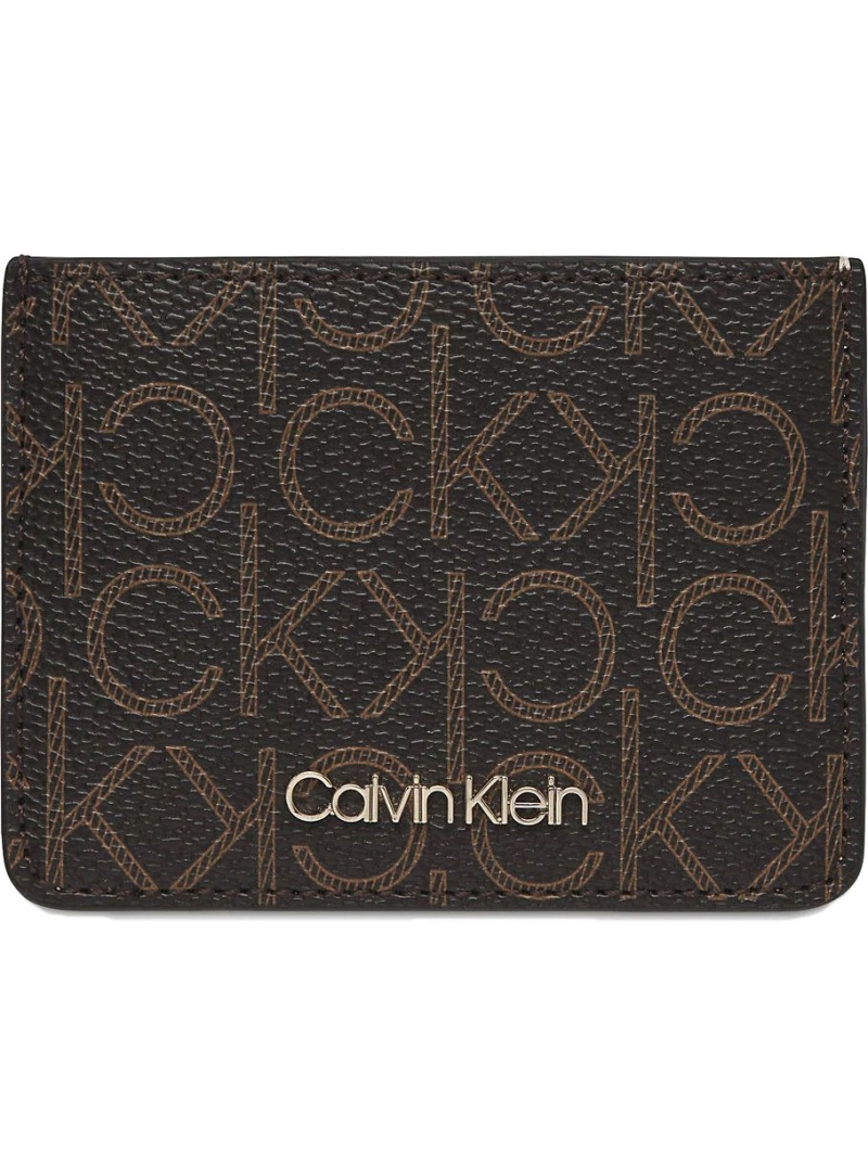 Mały Portfel CALVIN KLEIN JEANS Logo Cardholder K60K606561 0HD