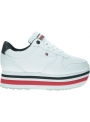 Sneakersy Damskie TOMMY HILFIGER Piped Flatform Sneaker FW0FW04702 0KP