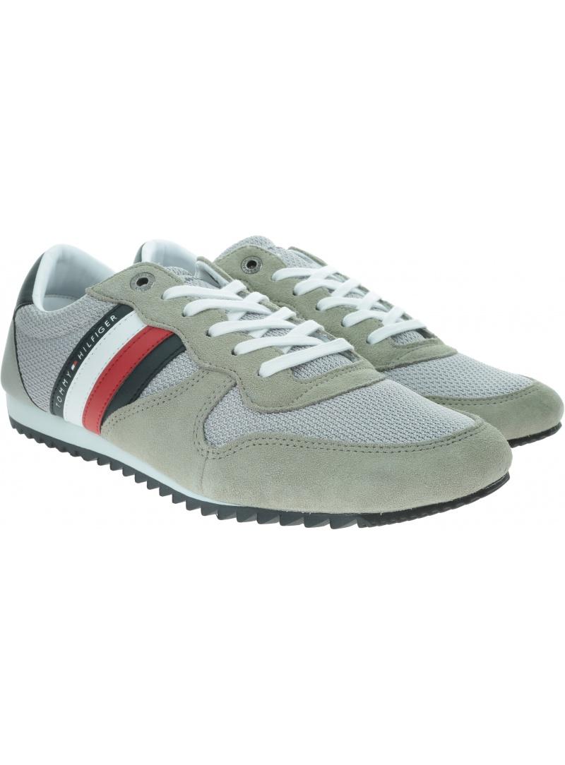 Sneakersy Męskie TOMMY HILFIGER Essential Mesh Runner FM0FM02666 PRT