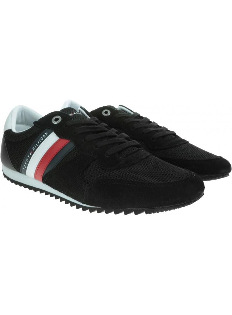 Sneakersy Męskie TOMMY HILFIGER Essential Mesh Runner FM0FM02666 BDS