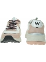 Sneakersy Wrangler Chunky Iconic WL01650A Rose/Silver/Black