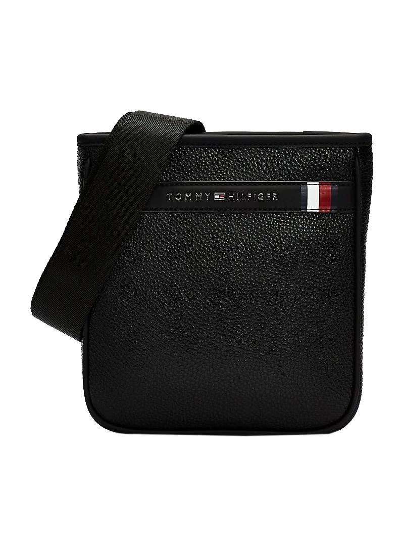 Czarna Torba Męska Saszetka TOMMY HILFIGER TH Downtown Crossbody Bag