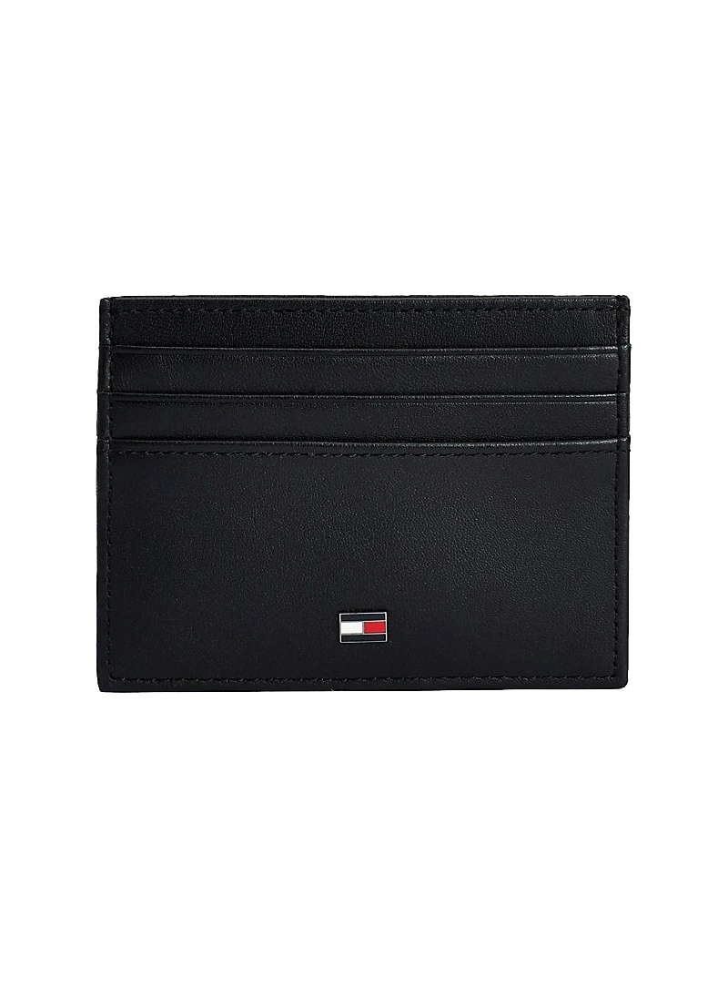 Mały Portfel na Karty TOMMY HILFIGER Essential Cardholder AM0AM06161 BDS