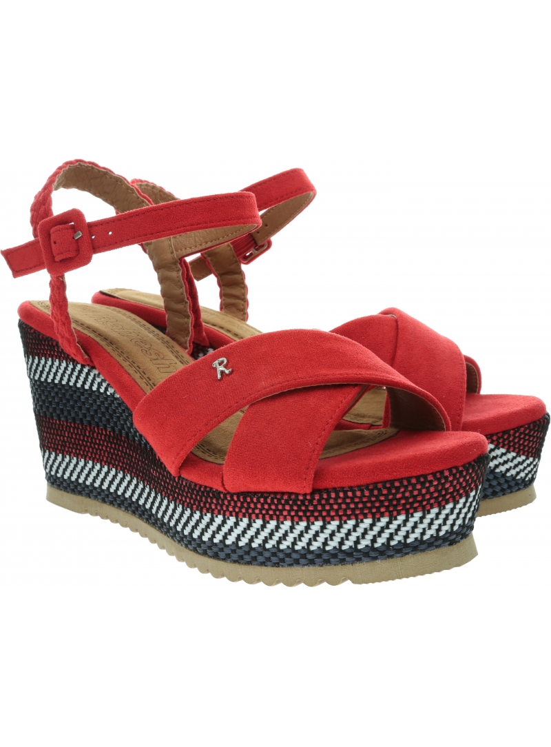 Espadryle REFRESH 69583 Red