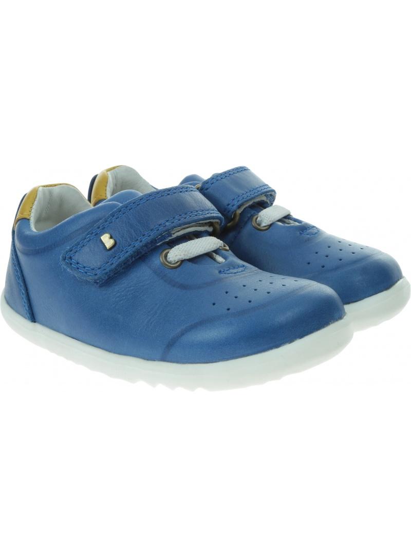 Niebieskie Półbuty BOBUX Ryder Blueberry + Chartreuse 730208