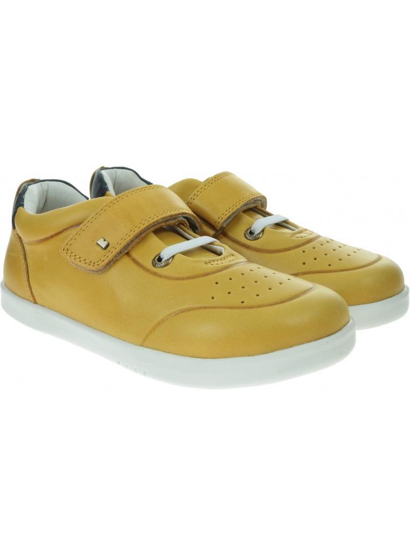 Żółte Półbuty BOBUX Ryder Chartreuse + Navy 835603