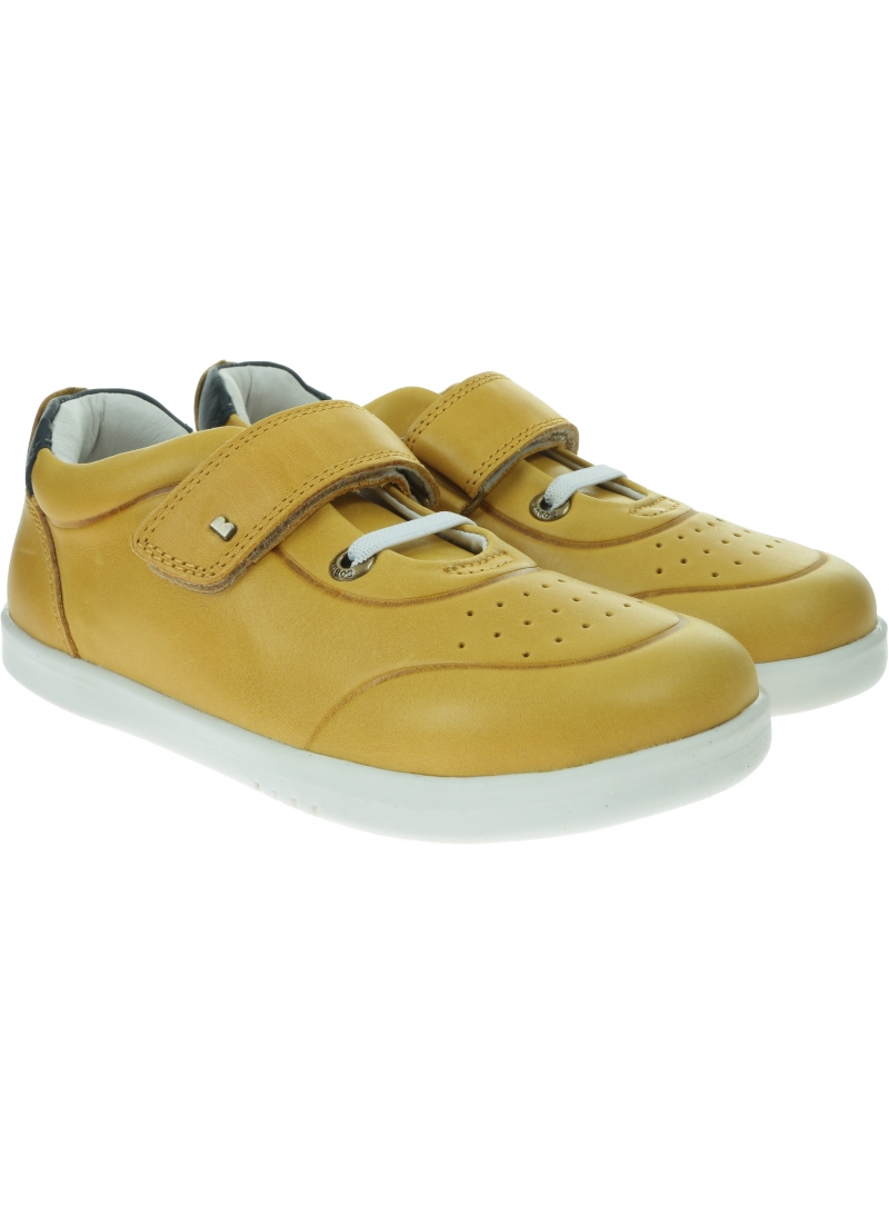 Żółte Półbuty BOBUX Ryder Chartreuse + Navy 635503