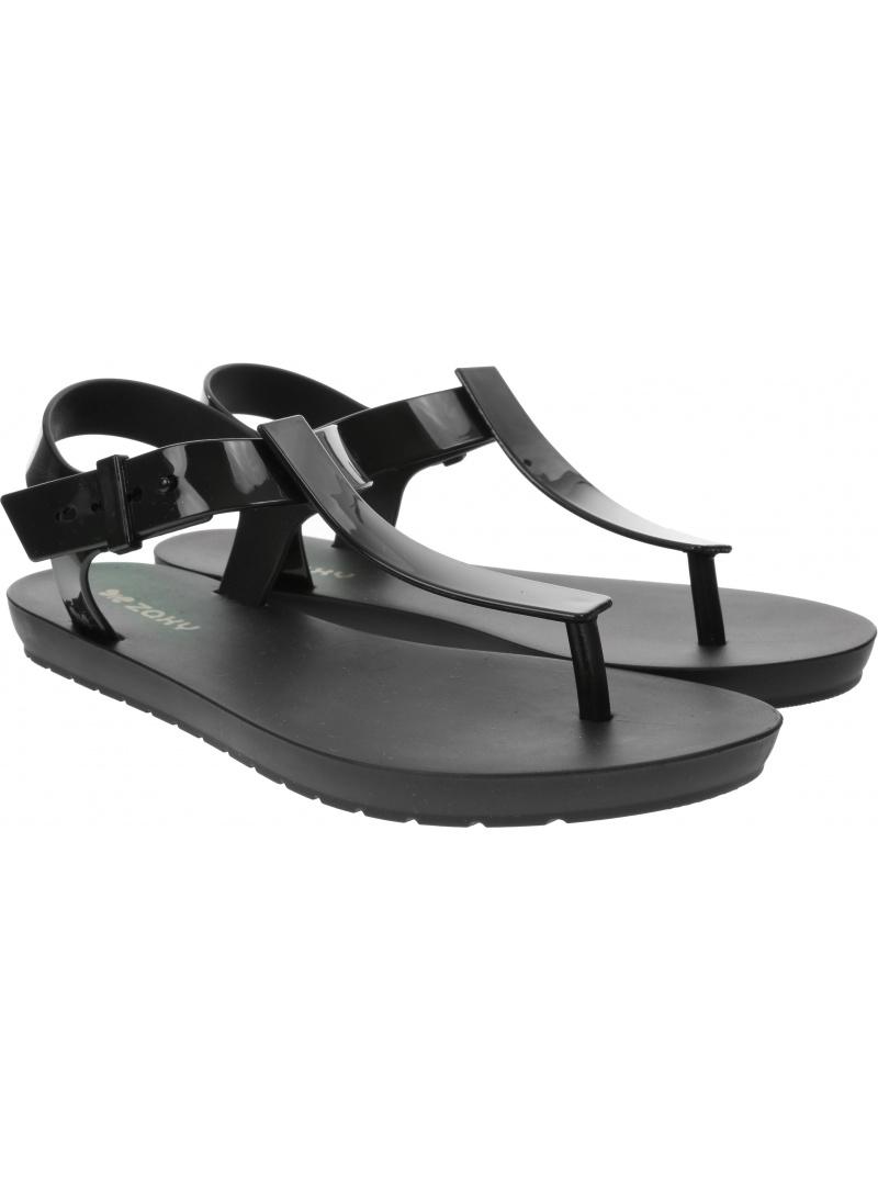 Czarne Sandały ZAXY 17483 90101