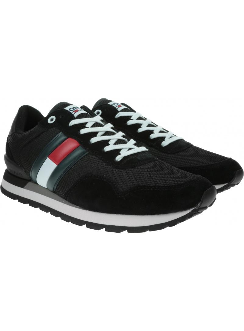 Sneakersy Męskie TOMMY HILFIGER Casual Tommy Jeans Sneaker EM0EM00399 BDS