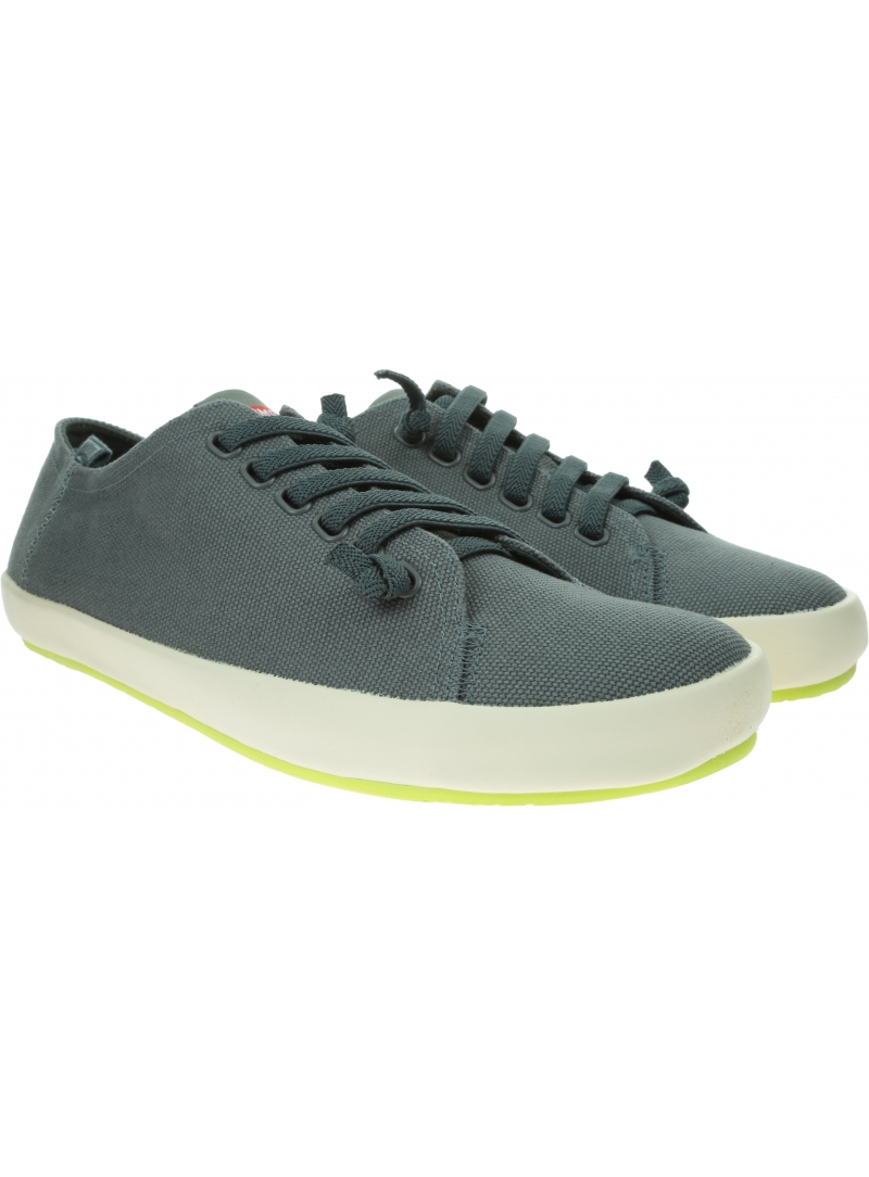 Szare Sneakersy CAMPER Peu Rambla Grey 18869 073