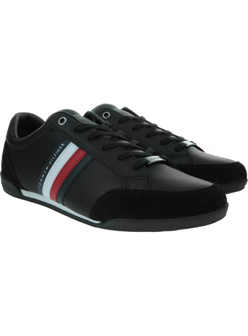 Sneakersy Męskie TOMMY HILFIGER Corporate Material Mix Cupsole FM0FM02665
