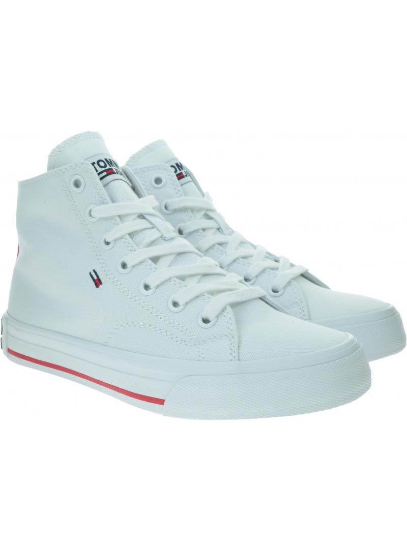 Sneakersy Damskie TOMMY HILFIGER Midcut Essential Sneaker EN0EN00795 YBS
