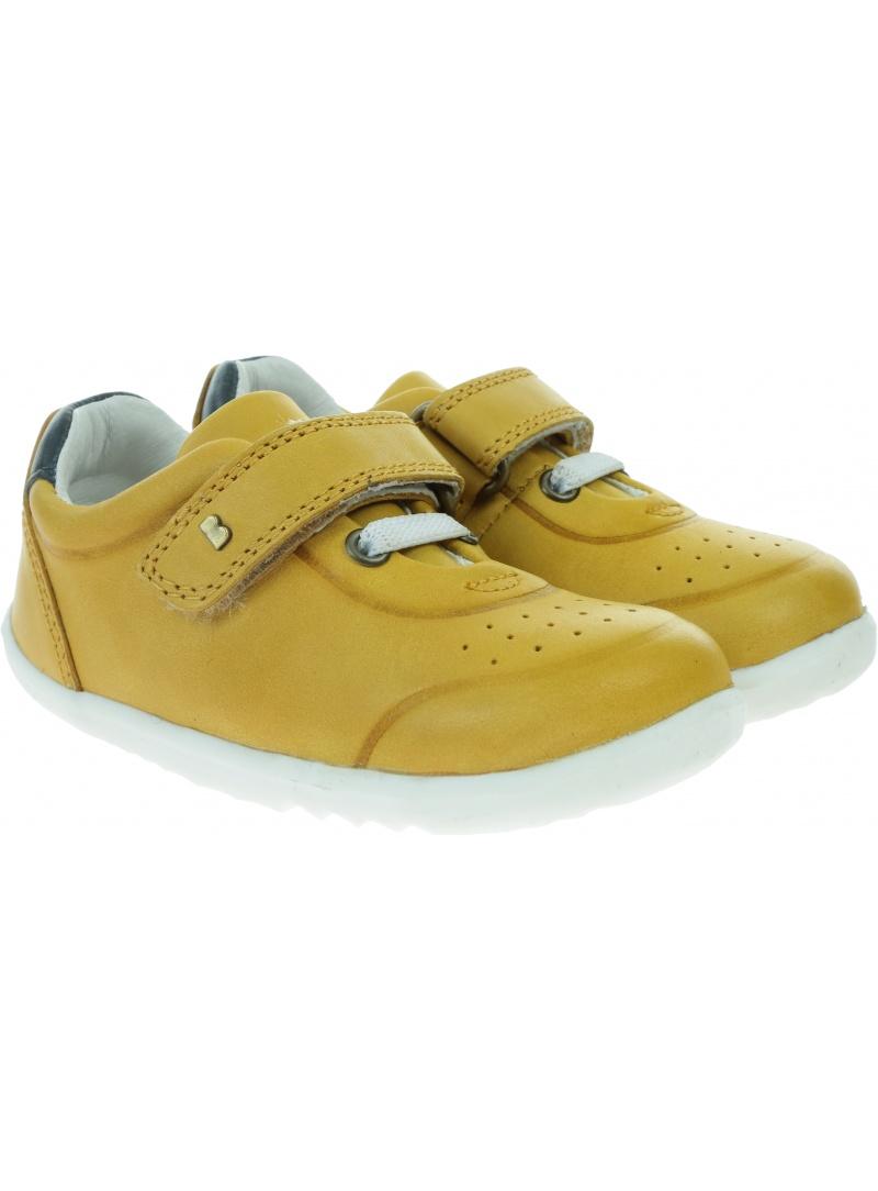 Żółte Półbuty BOBUX Ryder Chartreuse + Navy 730203