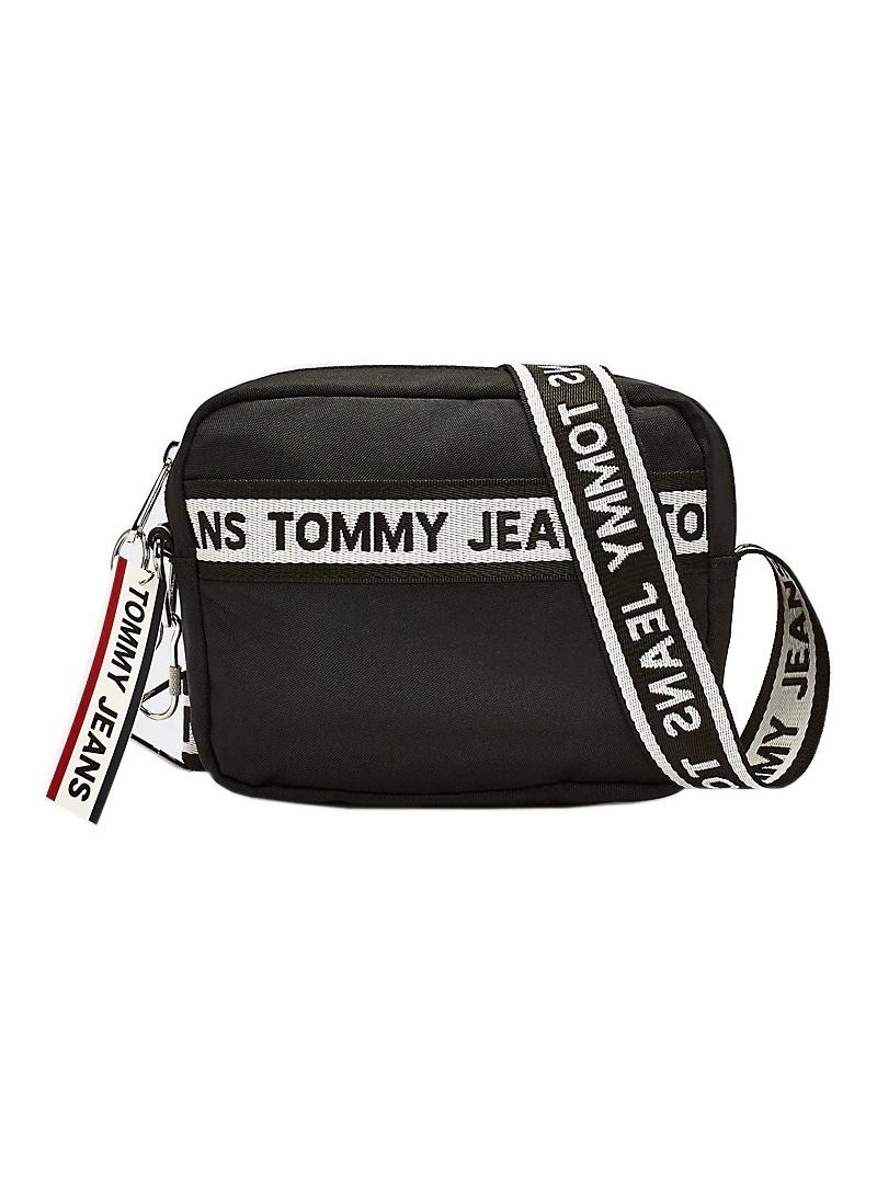 Torebka TOMMY JEANS Tjw Logo Tape Crossover Nyl AW0AW08255 0GJ