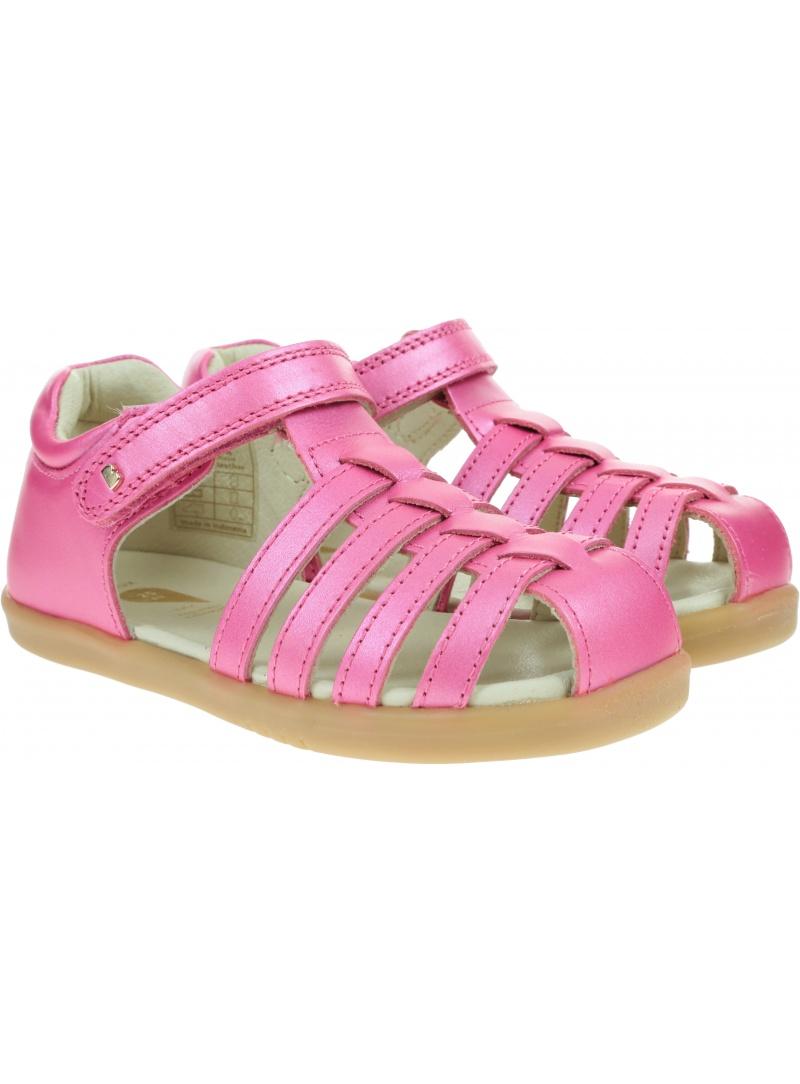 Różowe Zabudowane Sandały BOBUX Jump Strawberry Shimmer 625933