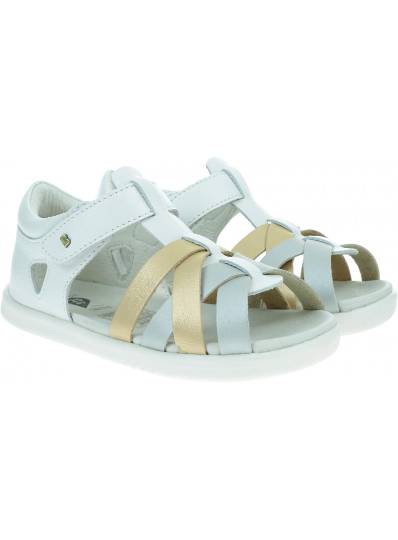 Białe Sandały BOBUX Tropicana White + Gold + Silver 634309