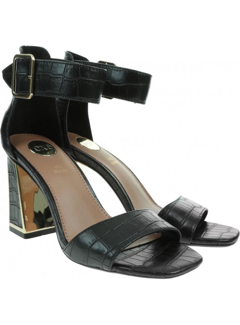 Czarne Sandały EXE Lucia 150 Black