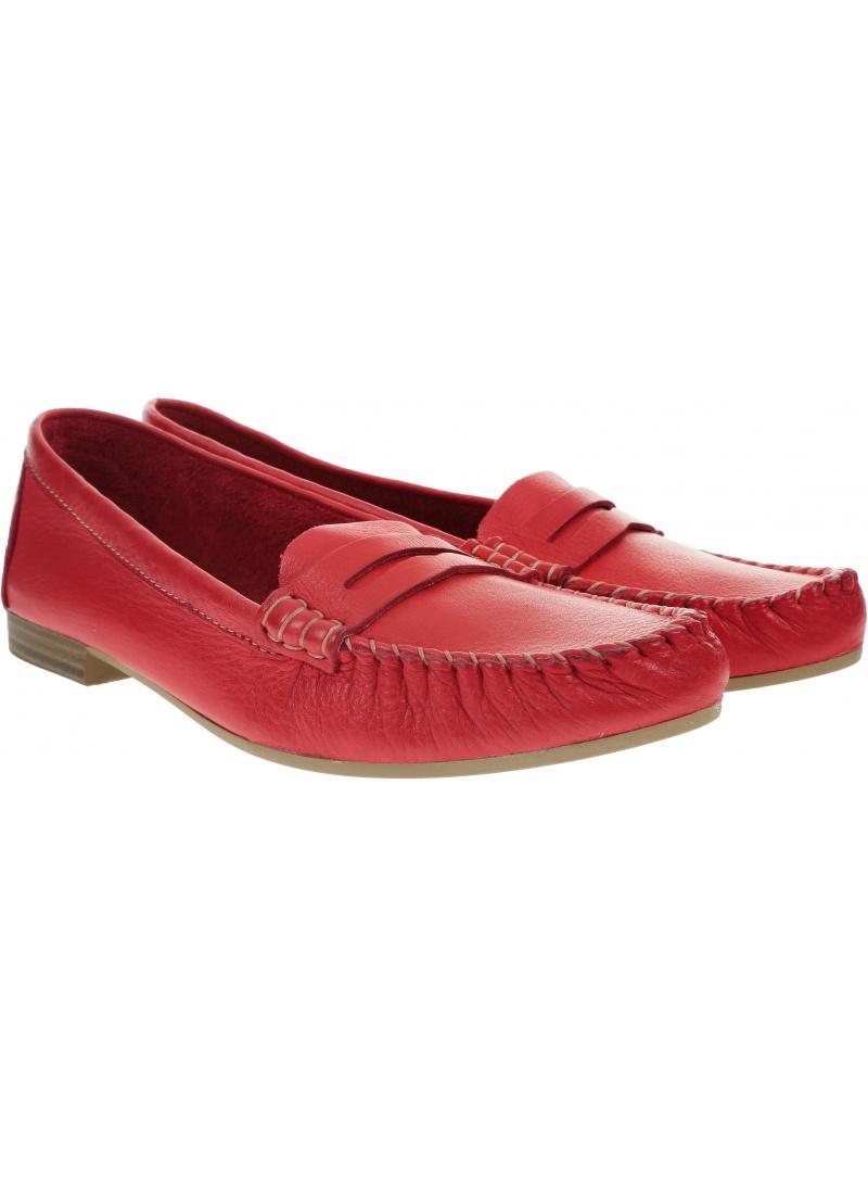 Czerwone Mokasyny TAMARIS 1-24213/24 Red 500