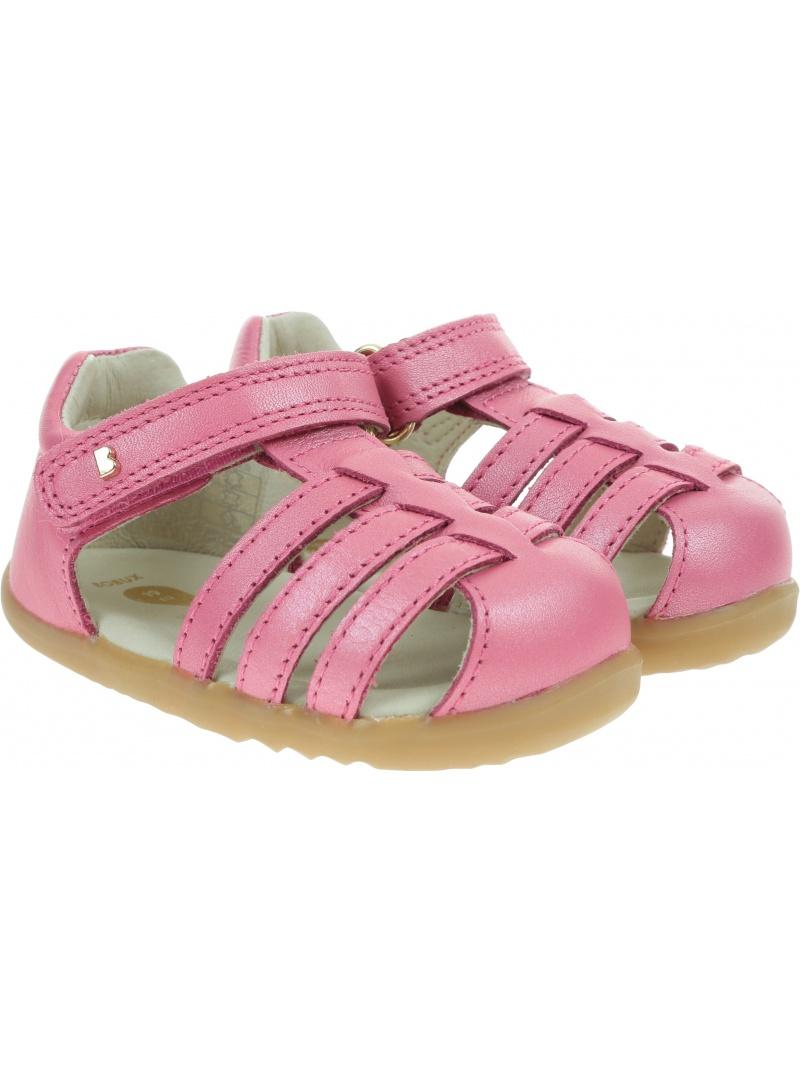Różowe Zabudowane Sandały BOBUX Jump Strawberry 723428