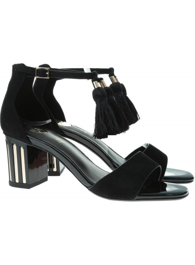 Czarne Sandały EXE Sonia 235 Black