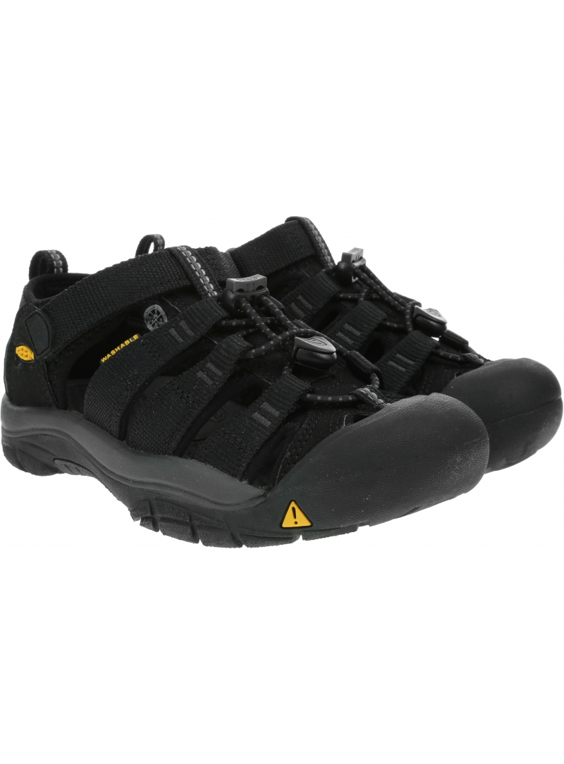 Sportowe Sandały KEEN Newport H2 1022838 Black/Keen Yellow