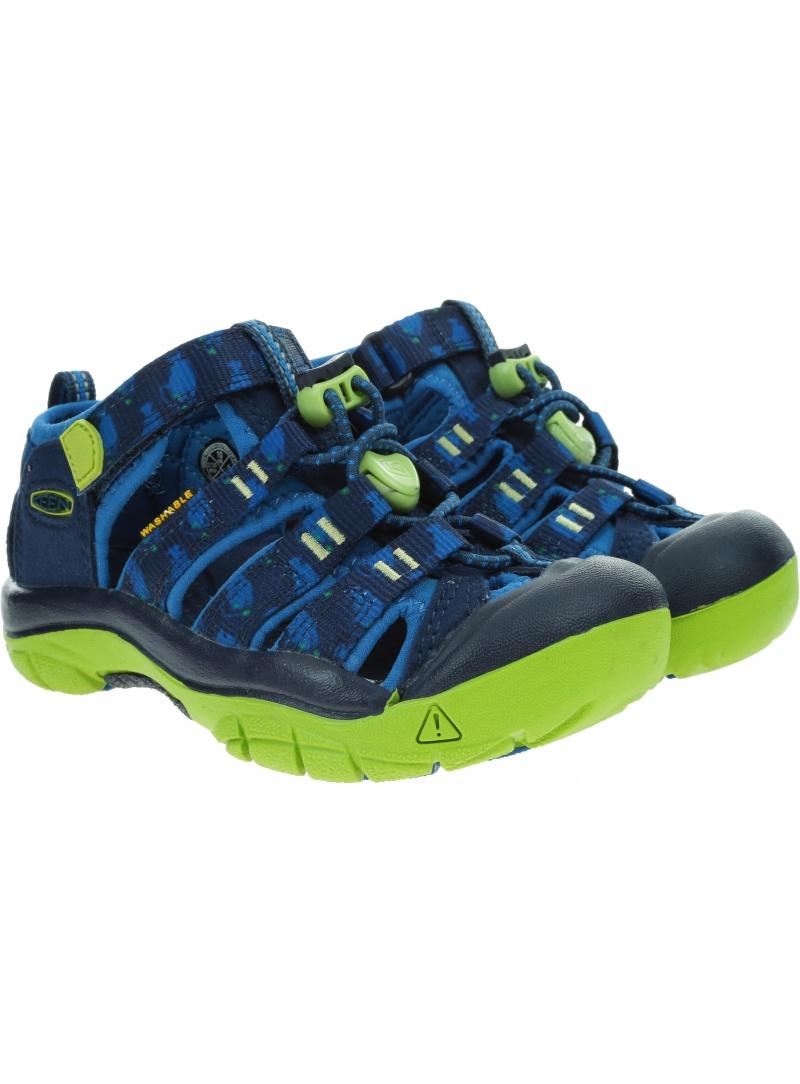Sportowe Sandały KEEN Newport H2 1022834 Blue Depths/Chartreuse