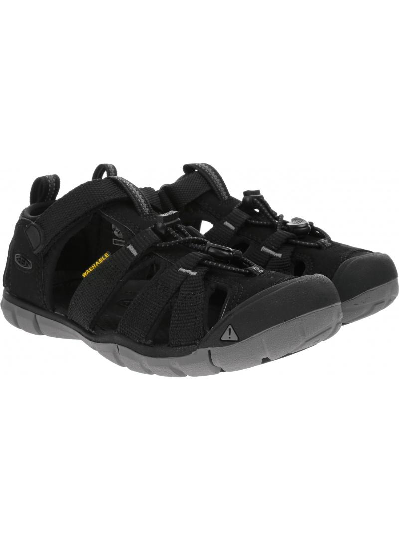 Sportowe Sandały KEEN Seacamp II Cnx 1020690 Black/Steel Grey